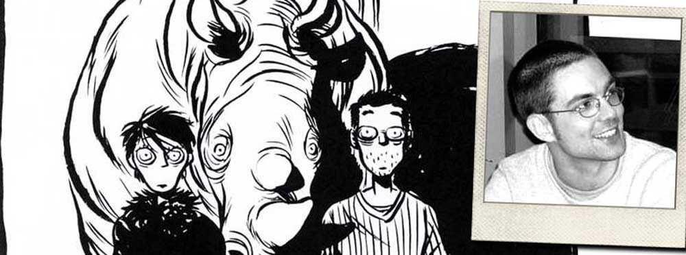 Frédérik Peeters est le dessinateur de la BD Pilules Bleues