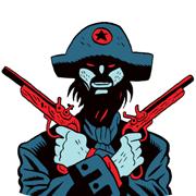 pirate à l'affiche de Quai des Bulles 2012