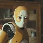 Robot enfant du film de SF de Kike Maillot intitulé Eva