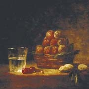 fiction historique, nature morte de Jean-Baptiste Siméon Chardin