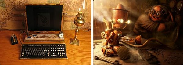 steampunk, sous-genre de la science-fiction