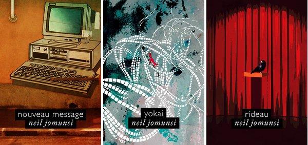 Projet Bradbury de Neil Jomunsi : Nouveau Message, Yokai, Rideau