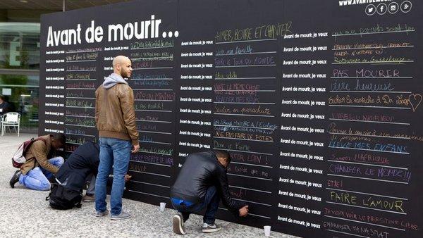 Avant de mourir, je veux... écrire un roman