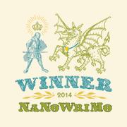 NaNoWriMo 2014 gagnant