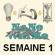Bilan de la première semaine du NaNoWriMo