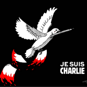 Je suis Charlie hommage colombe Charlie Hebdo