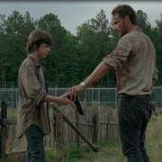 symbole du pistolet dans The Walking Dead