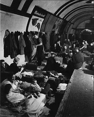 Blitz population dans le métro londonien