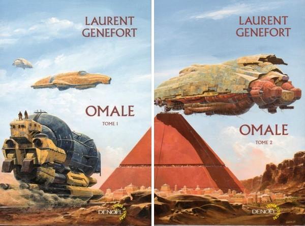couvertures Omale Laurent Genefort