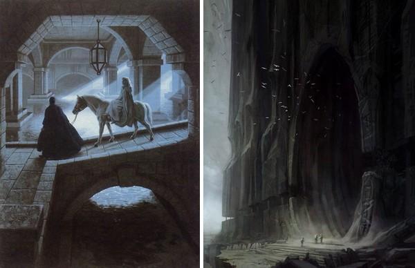 illustrations inspirantes pour écrire de la fantasy et du fantastique