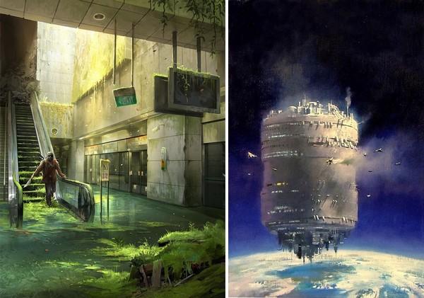 inspiration pour écrire un roman de science-fiction post-apocalyptique