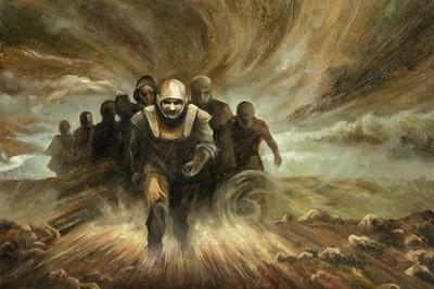 fanfiction la horde du contrevent roman fantasy alain damasio