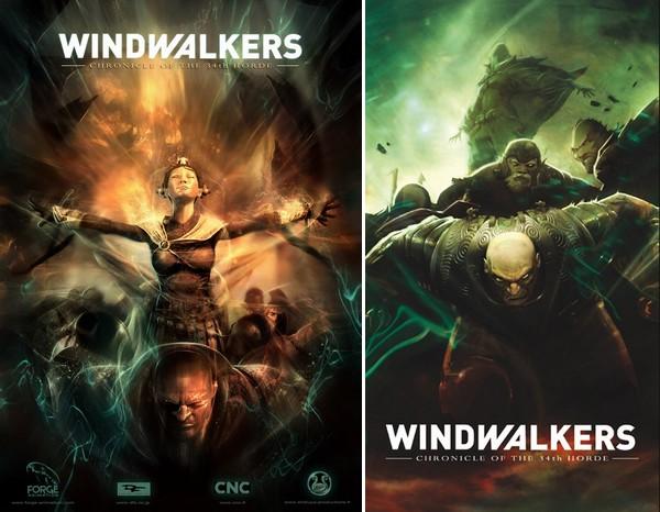 affiches du films Windwalkers, réalisé par Jan Kounen et Forge Animation