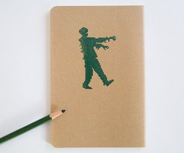 inspiration : des zombies dans mon cahier d'écriture