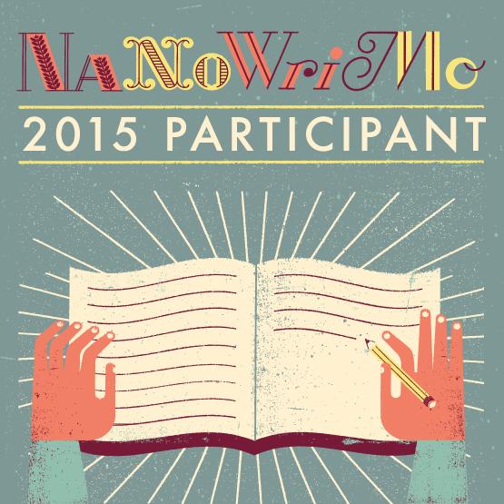 badge participant NaNoWriMo 2015 pour Twitter