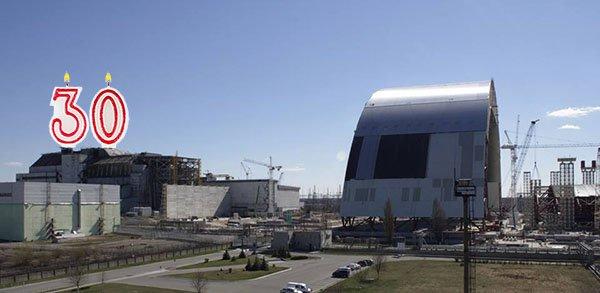 le réacteur n°4 de Tchernobyl fête ses 30 ans de fusion