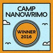 Auteur gagnant Camp NaNoWriMo avril 2016