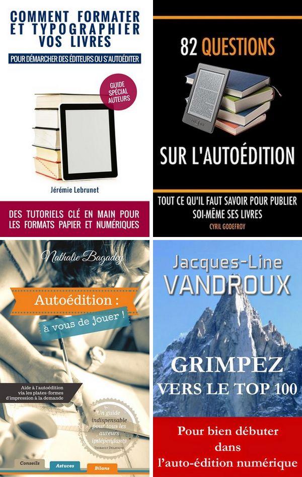 guides autoédition pour écrire un roman et publier un livre sur Amazon KDP tutoriel typographie - Cyril Godefroy, Jacques-line Vandroux, Nathalie Bagadey, Jérémie Lebrunet