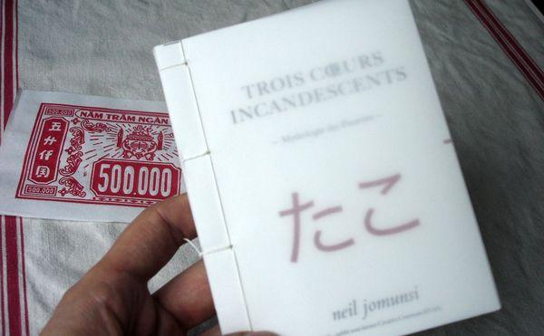 autoédition reliure à la japonaise mise en page InDesign par Neil Jomunsi