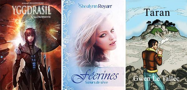 salon auteurs indépendants Myriam Caillonneau Shealynn Royan Gwen Le Tallec romans