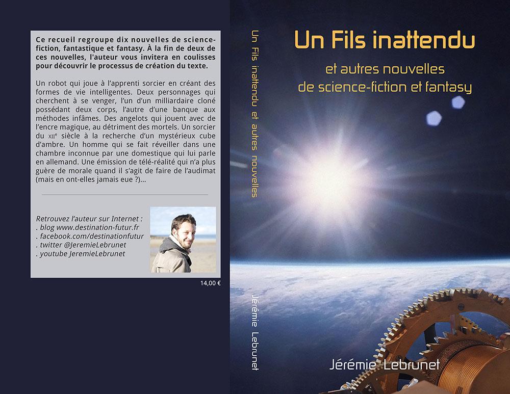 recueil de nouvelles SFFF Jérémie Lebrunet