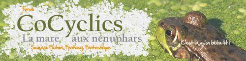 Bannière de CoCyclics, forum de bêta-lecture