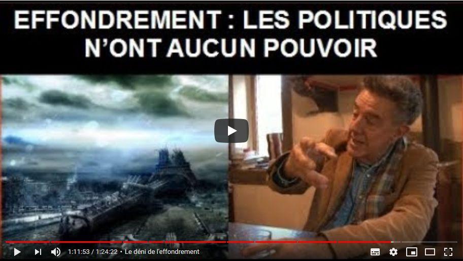 Yves Cochet parle de l'effondrement de notre civilisation post-industrielle - interview de Ma Ferme Autonome
